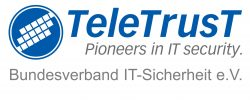 TeleTrusT Logo + Name DE